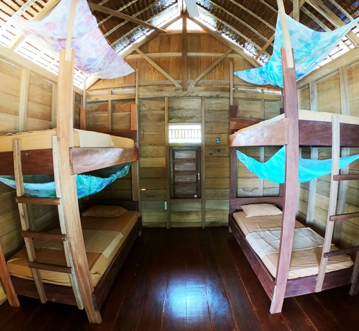 bagus surf camp room type I