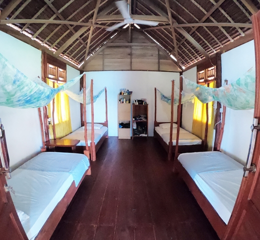 bagus surf camp room type II