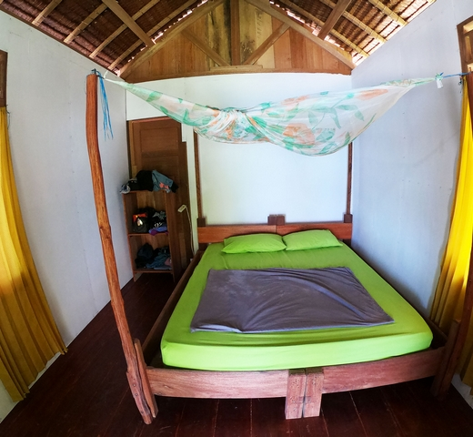 bagus surf camp room type couple